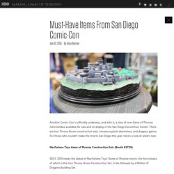 Must-Have Items From San Diego Comic-Con
