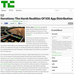 Iterations: The Harsh Realities Of iOS App Distribution