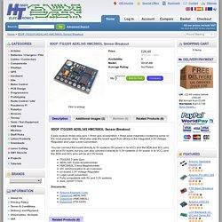 9DOF ITG3205 ADXL345 HMC5883L Sensor Breakout