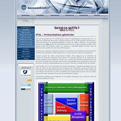 ITIL - Présentation du référentiel