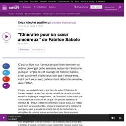"""""""Itinéraire pour un cœur amoureux"""" de Fabrice Sabolo"""