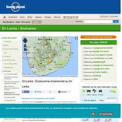 Itinéraire écotourisme et bénévolat au Sri Lanka