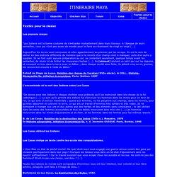 ITINERAIRE MAYA