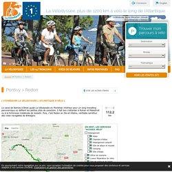 L'itinéraire à vélo Pontivy / Redon — La Vélodyssée