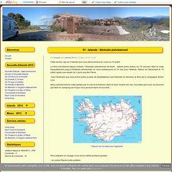 01 - Islande : itinéraire prévisionnel - Voyages en camping car...
