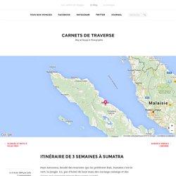 Itinéraire de 3 semaines à Sumatra - Indonésie - Blog voyage et photo
