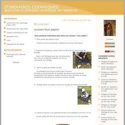 ITINERAIRES CERAMIQUES : Archives
