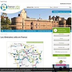 Tous les itinéraires vélo en France pour partir en vacances