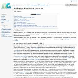 Itinéraires en Biens Communs - Remixtheremix