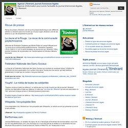 Agence L'Itinérant, journal d'annonces légales