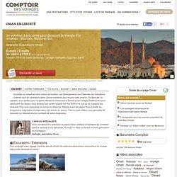 Voyage itinérant Mascate, Nizwa et Sur - Oman - Comptoir des Voyages