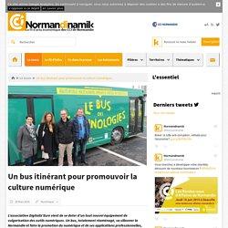 Un bus itinérant pour promouvoir la culture numérique