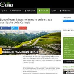 BonzoTeam, itinerario in moto sulle strade austriache della Carinzia