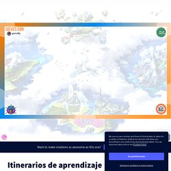 Itinerarios de aprendizaje by Carlos on Genially