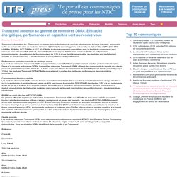 ITRpress : Le portail des communiqués de presse pour les NTIC