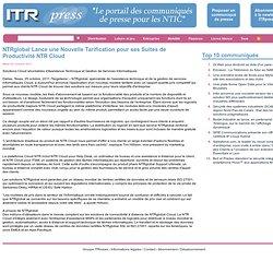 Le portail des communiqués de presse pour les NTIC