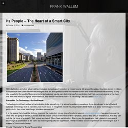 Its People - The Heart of a Smart City
