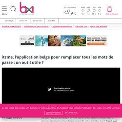 itsme, l'application belge pour remplacer tous les mots de passe : un outil utile ?