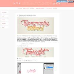 amazing typography tut