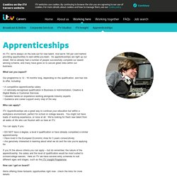 Jobs: TV Work Experience. Check out the latest placements!