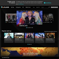 Watch TV online | ITV