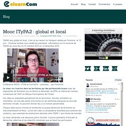 Mooc ITyPA2 : global et local