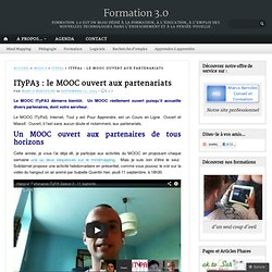 ITyPA3 : le MOOC ouvert aux partenariats