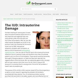 IUD Problems