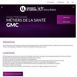 LP Métiers de la Santé - GMC - IUTNB
