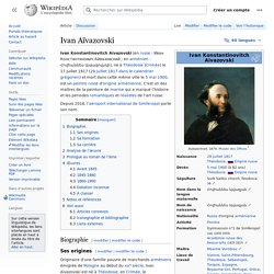 Ivan Aïvazovski