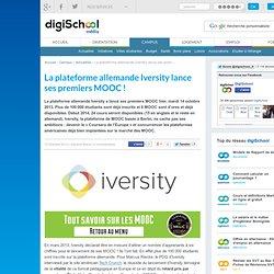 Iversity lance ses premiers MOOC