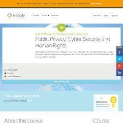 Public Privacy Course