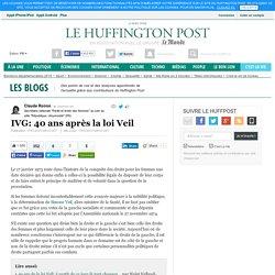 IVG: 40 ans après la loi Veil