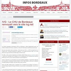 IVG : Le CHU de Bordeaux renvoyait vers le site ivg.net