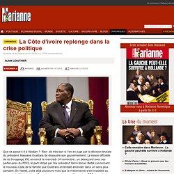 La Côte d'ivoire replonge dans la crise politique