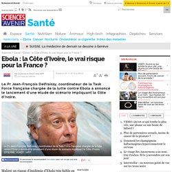 AFP 05/11/14 Ebola : la Côte d'Ivoire, le vrai risque pour la France ?