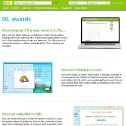 IXL - Awards information
