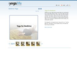 iYogaLife Slideshows - Bedtime Yoga