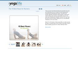 iYogaLife Slideshows - The 10 Best Poses for Runners