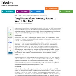 iYogi Scam Alert: Worst 5 Scams to Watch Out For!