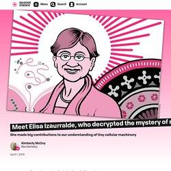 Meet Elisa Izaurralde, who decrypted the mystery of messenger RNA