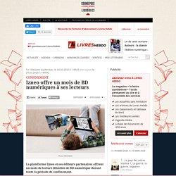 Izneo offre un mois de BD numériques à ses lecteurs