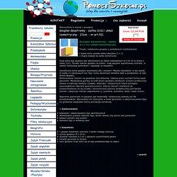 Geoplan dwustronny - siatka 11x11 i układ izometryczny - 23cm. - nr.art.911 - pomoceszkolne.pl