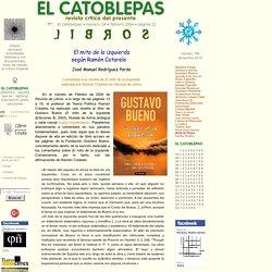 El mito de la izquierda según Ramón Cotarelo, El Catoblepas 24:22, 2004