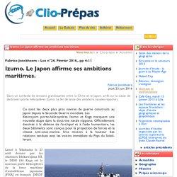 Izumo. Le Japon affirme ses ambitions - Clio Prépas