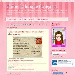 J'aime la langue française: A2