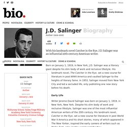 J.D. Salinger - Author