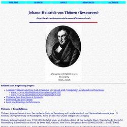 J.H.von Thünen