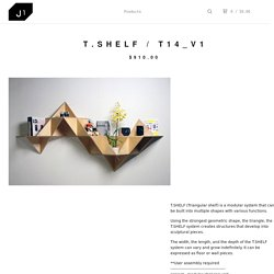J1 studio — T.shelf / T14_v1