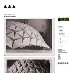 J6 - Origami Tessellation +